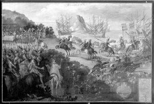 Die spanischen Eroberer in Mexico